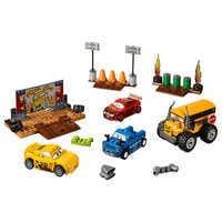 Image of Thunder Hollow Crazy 8 Race Playset by LEGO Juniors - Cars 3 # 1