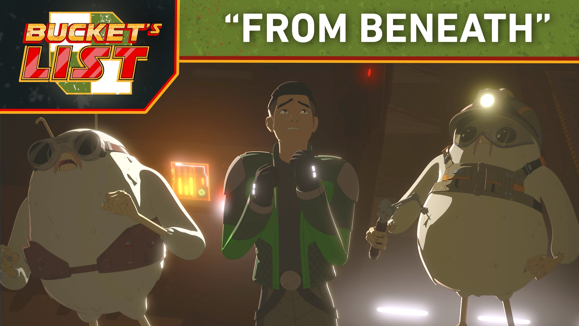 "Bucket's List: ""From Beneath"" - Star Wars Resistance"