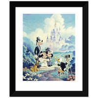 Image of ''Mickey and Minnie Wedding'' Giclée by Randy Souders # 2