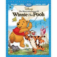 Image of The Many Adventures Of Winnie The Pooh 2-Disc Combo Pack # 1