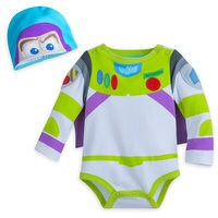 Image of Buzz Lightyear Costume Bodysuit for Baby # 1