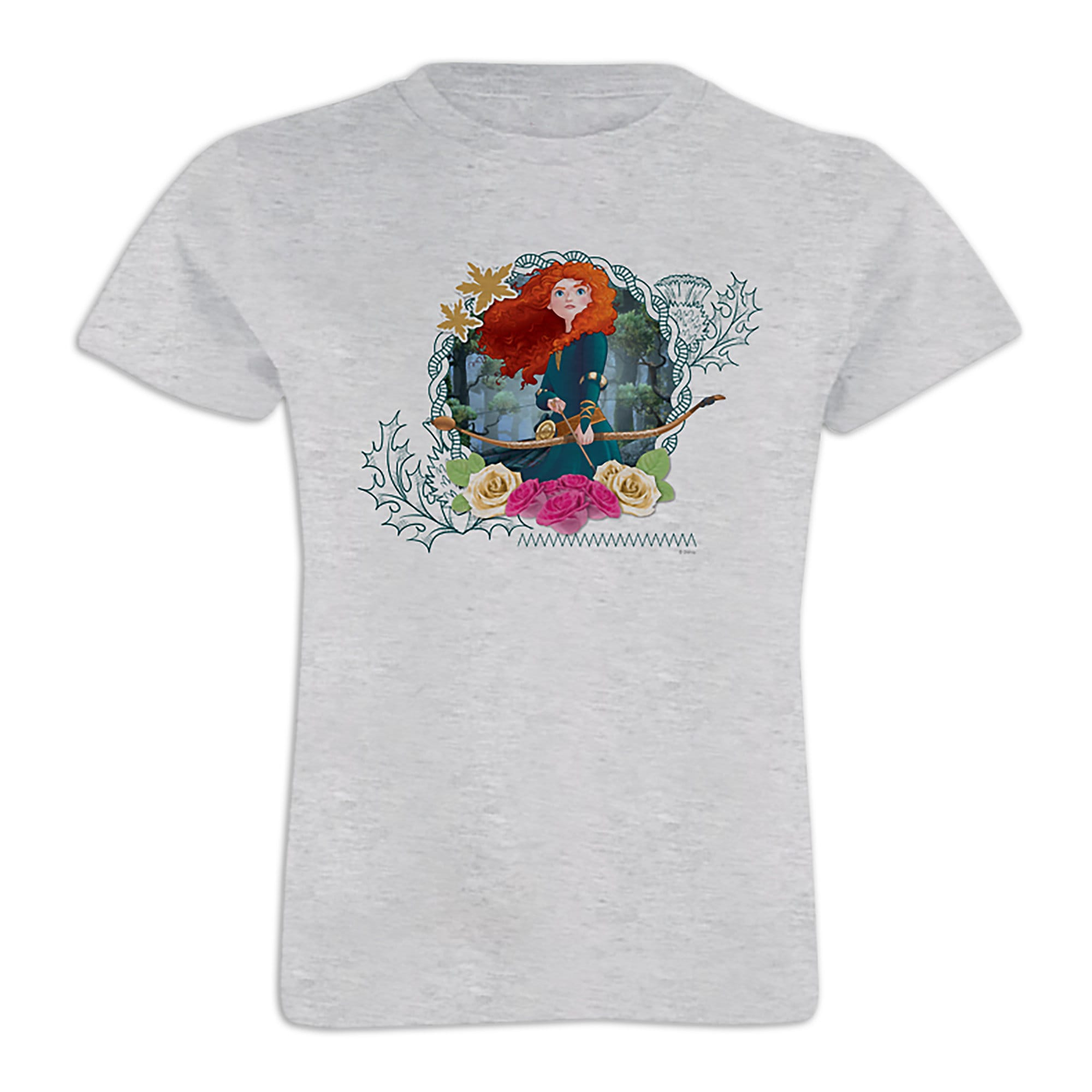 Merida Tee for Girls - Customizable