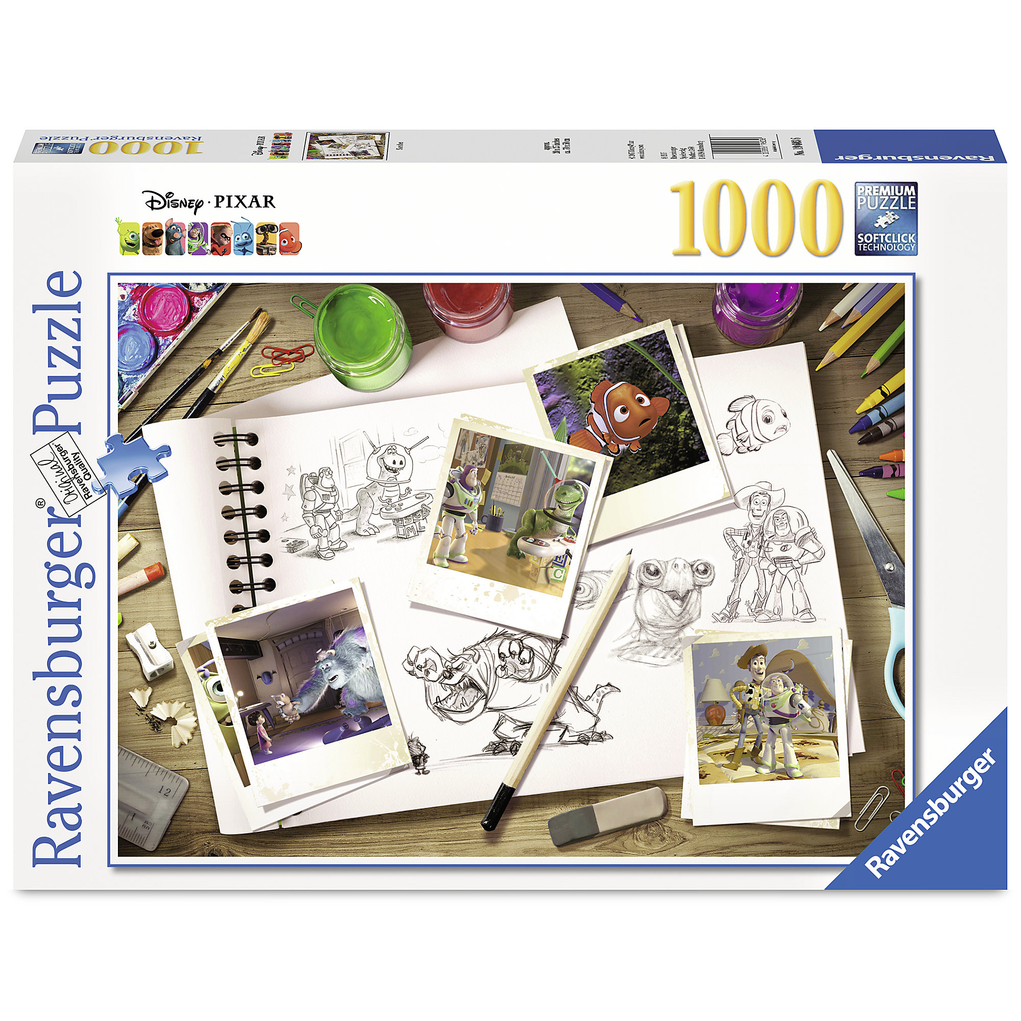 PIXAR Sketch Puzzle by Ravensburger