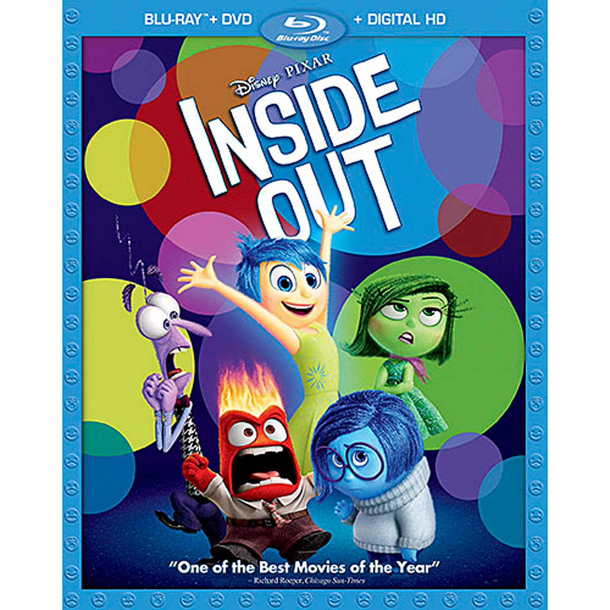 PIXAR Inside Out Blu-ray Combo Pack