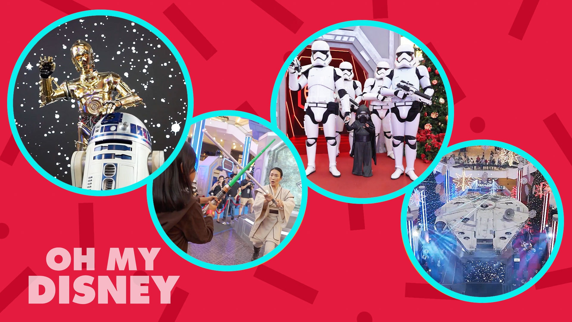 Disney Insider: A Starry Christmas At Pavilion, Kl Featuring Star Wars: The Rise Of Skywalker