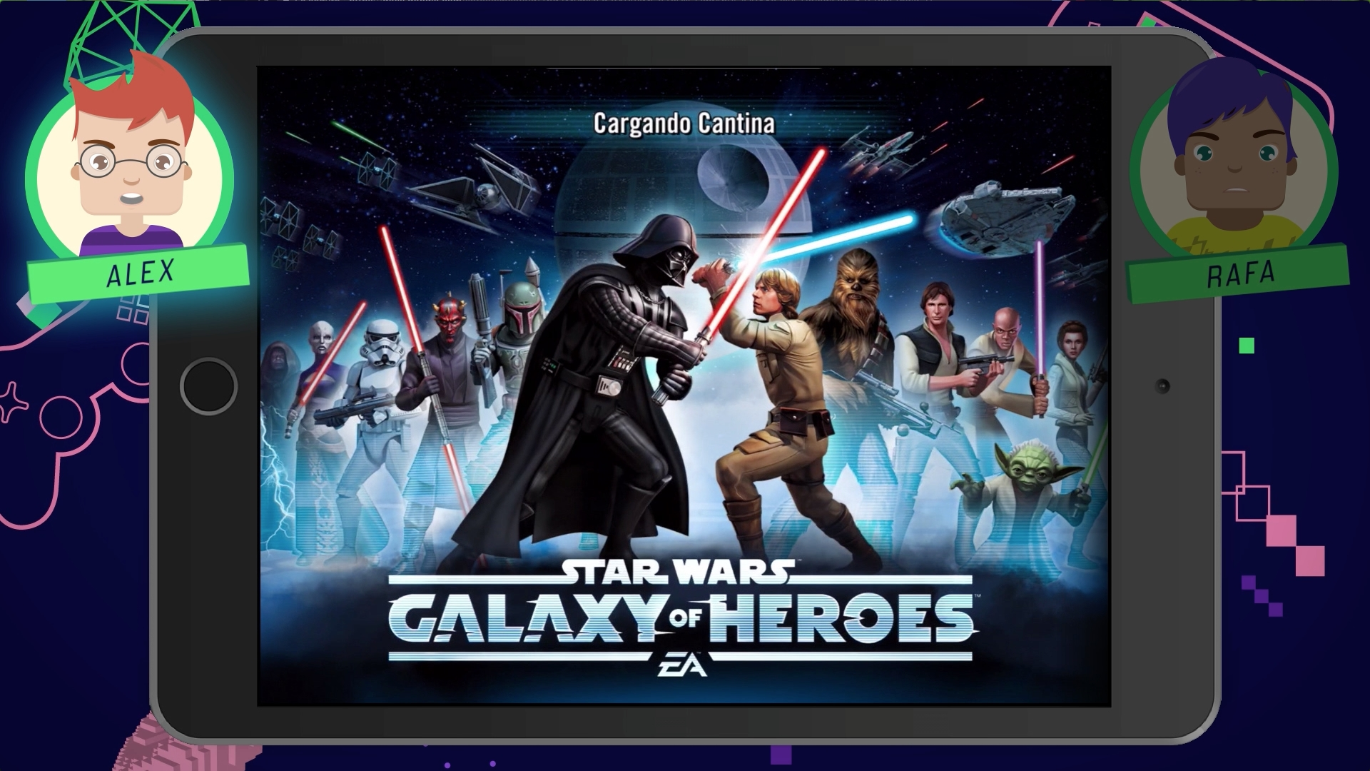 Gameplay – Star Wars: Galaxy of Heroes | Game On