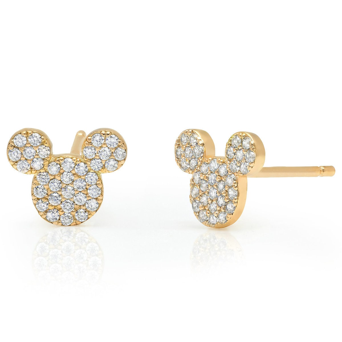 jacket fusion set stud yellow halo gold earrings diamond