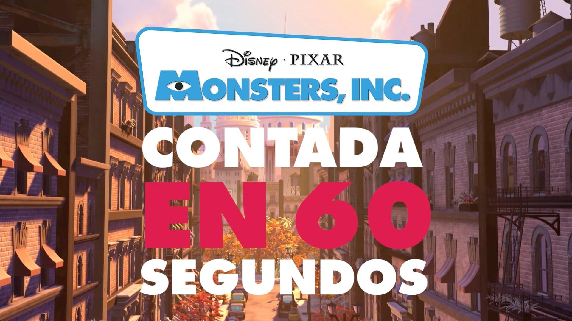 Monsters, Inc. contada en 60 segundos | Oh My Disney