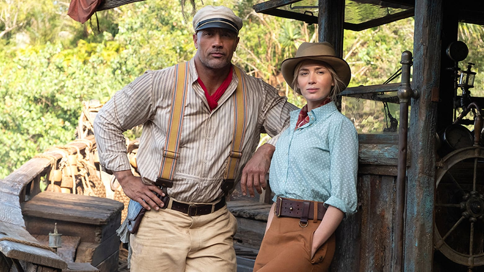 Jungle Cruise, de Disney estrenará en cines y en Disney+ a través de Premier Access, mira el video de Dwayne Johnson con el anuncio.