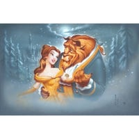 Image of Beauty and the Beast ''Evening Waltz'' Giclée by Noah # 1