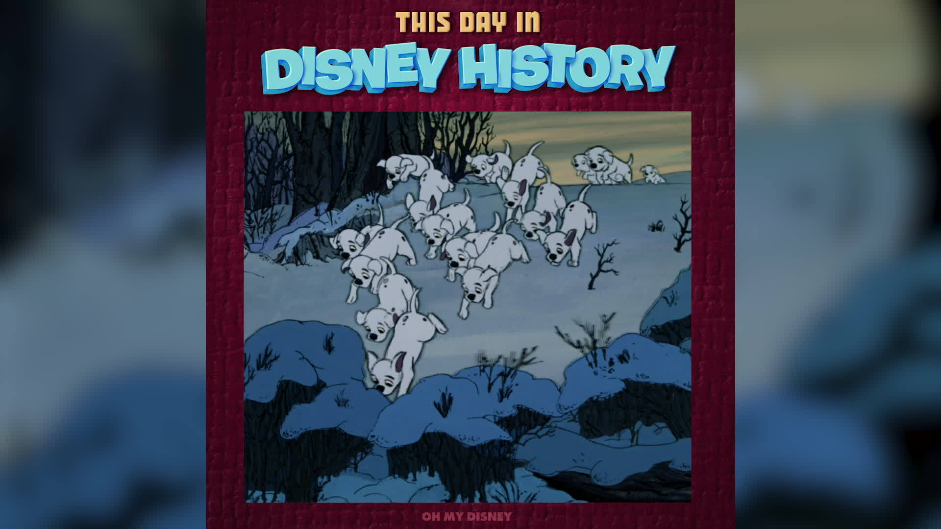 This Day in Disney History: 101 Dalmatians