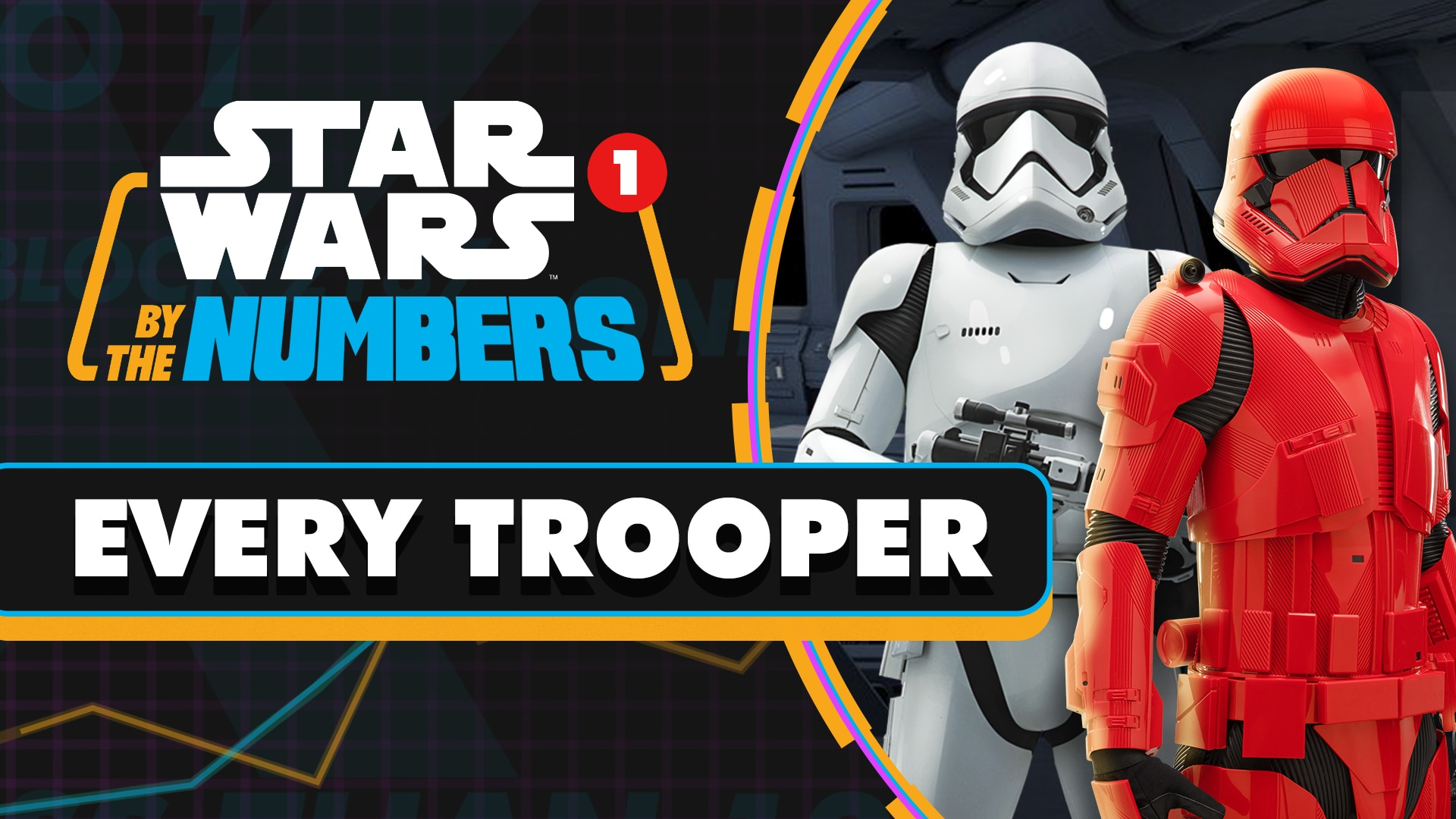 Every Type of Trooper in Star Wars | Star Wars By the Numbers