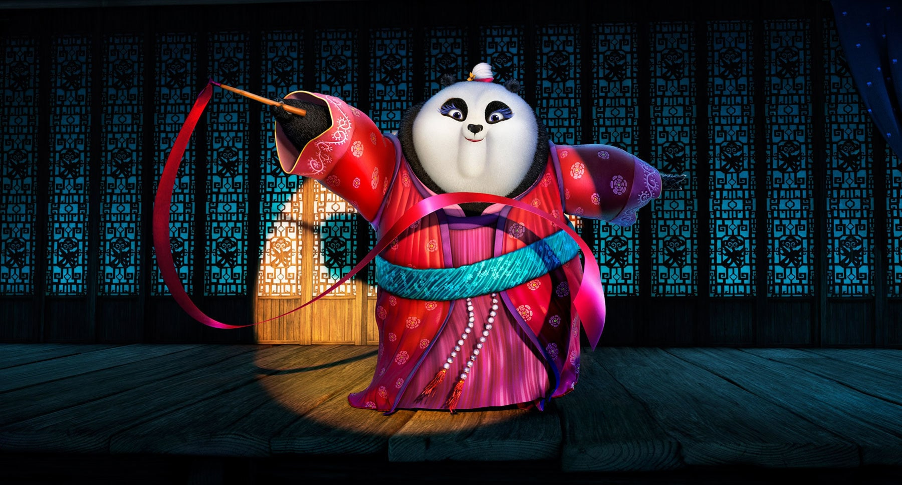 "Mei Mei (voiced by Kate Hudson) in the movie ""Kung Fu Panda 3"""