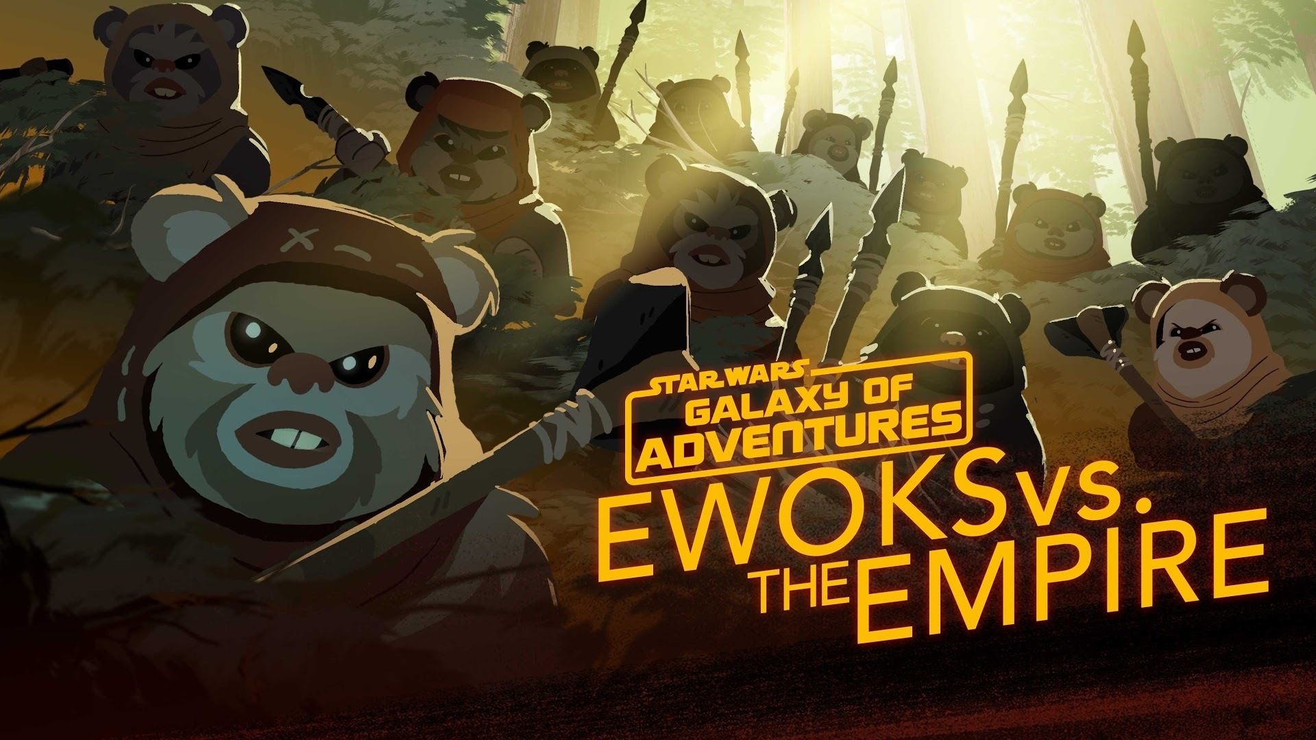 Ewoks vs. The Empire - Small but Mighty | Star Wars Galaxy of Adventures