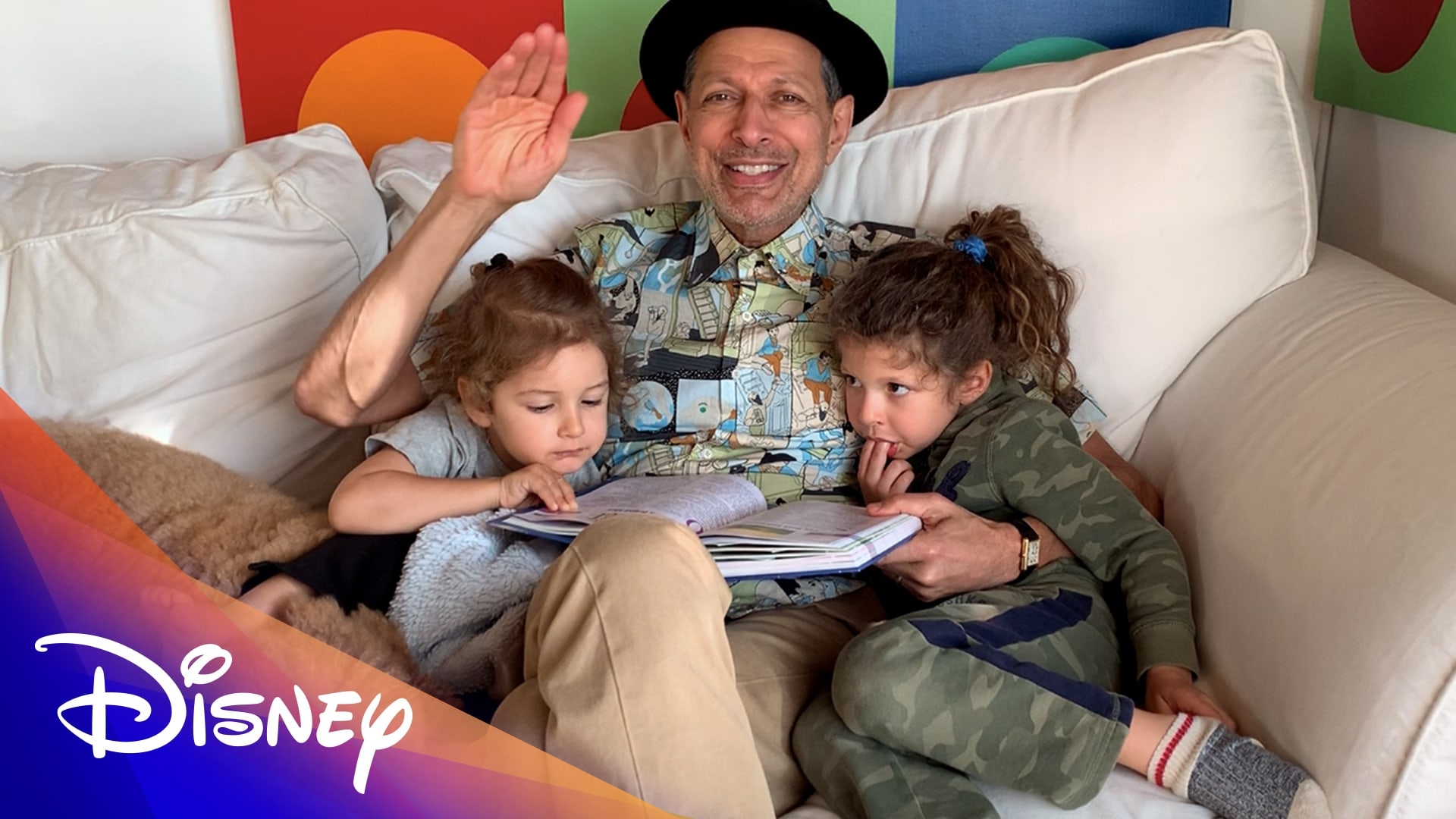 Storytime with Jeff Goldblum | Disney