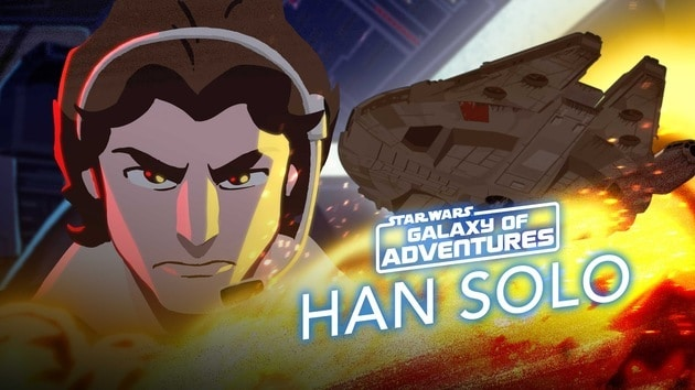 Han Solo -Taking Flight for his Friends | Star Wars Galaxy of Adventures