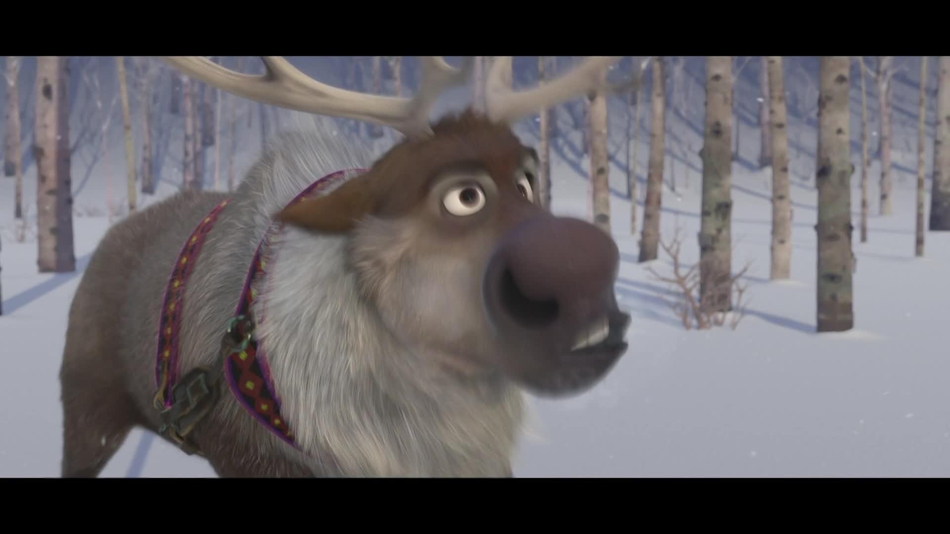 Olaf, Le roi de la gaffe - Comment résonner un renne