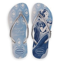 Image of Snow White Bridal Flip Flops for Women by Havaianas # 2