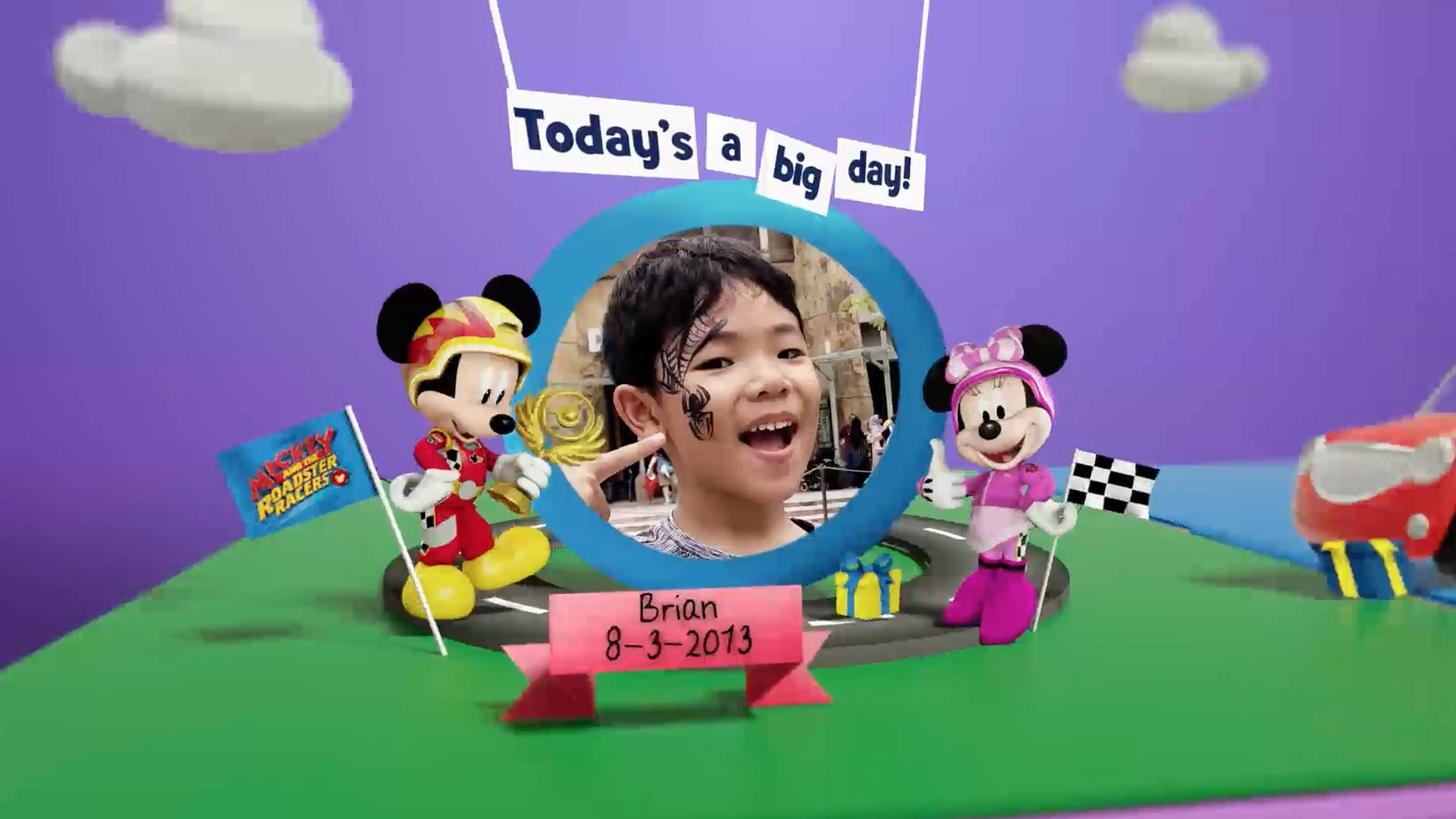 Disney Junior Birthday Book 2020 March Album 1