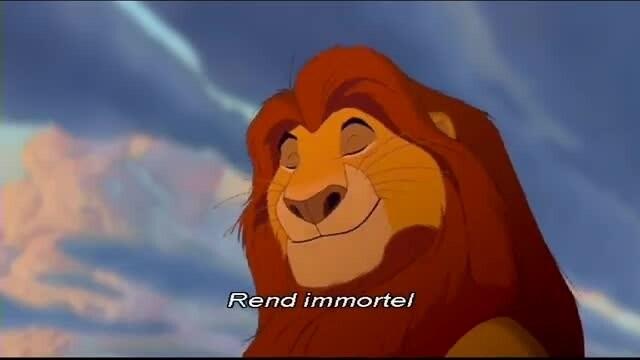 Karaoké : Le Roi Lion - L'Histoire de la vie