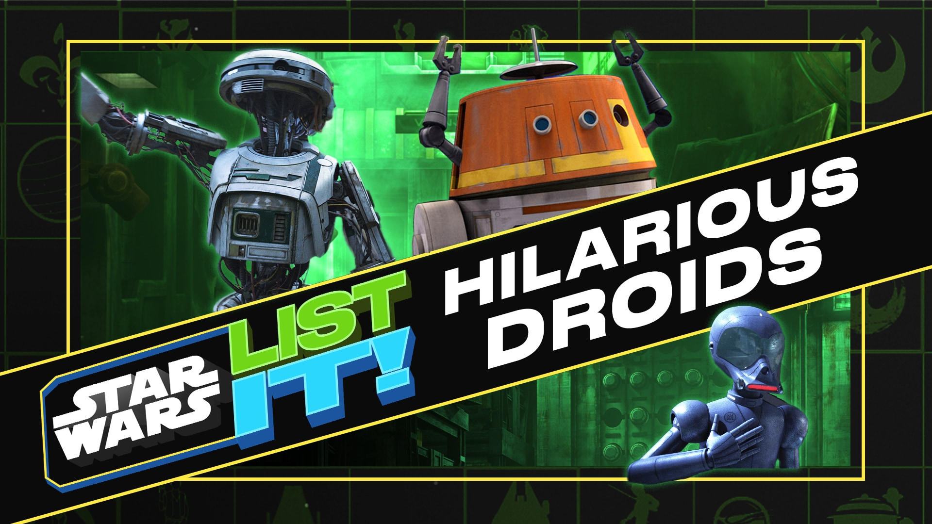 6 Hilarious Star Wars Droids   Star Wars: List It!