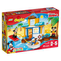 Image of Mickey Mouse & Friends Beach House LEGO Duplo Playset # 2