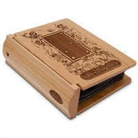 Image of Walt Disney World Wood Photo Album by Arribas - Personalizable # 4