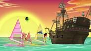 Captain Quixote/Captain Hook's Crocodile Crew