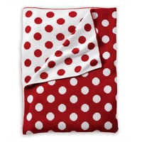 Image of Minnie Mouse Dotty Stroller Blanket by Ethan Allen # 2