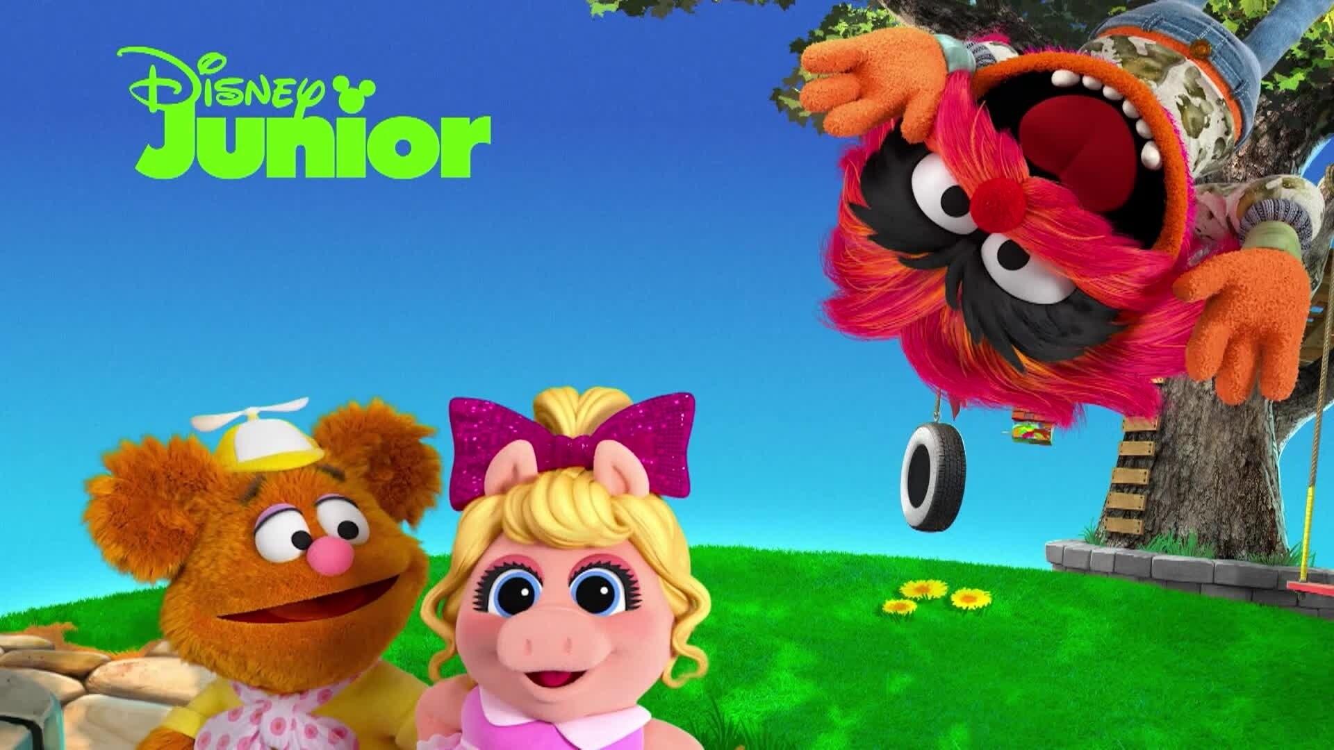 """Nuevos episodios de """"Muppet Babies"""" en Disney Junior."""