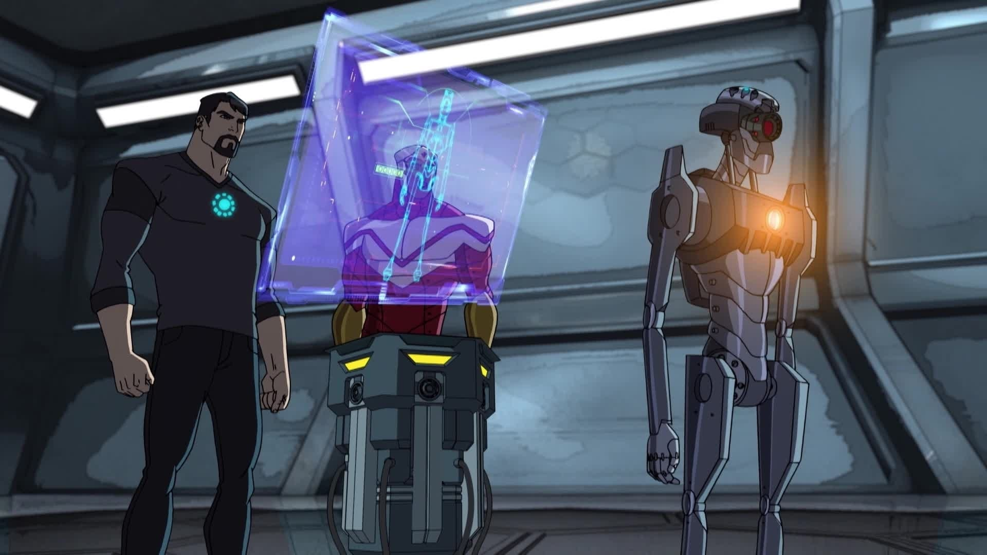 Avengers Assemble - Howard's hologram
