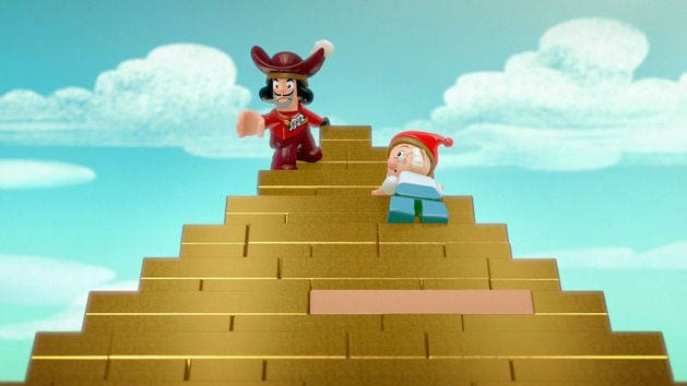 The Golden Pirate Pyramid