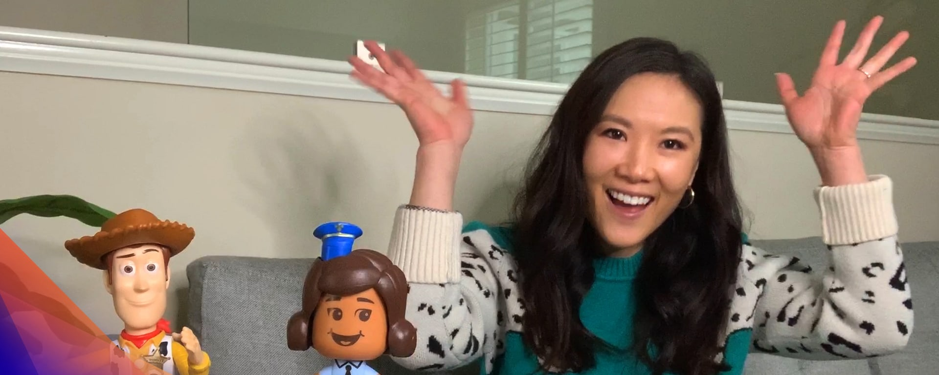 """Ally Maki reads from """"Toy Story: Storybook Collection"""""""