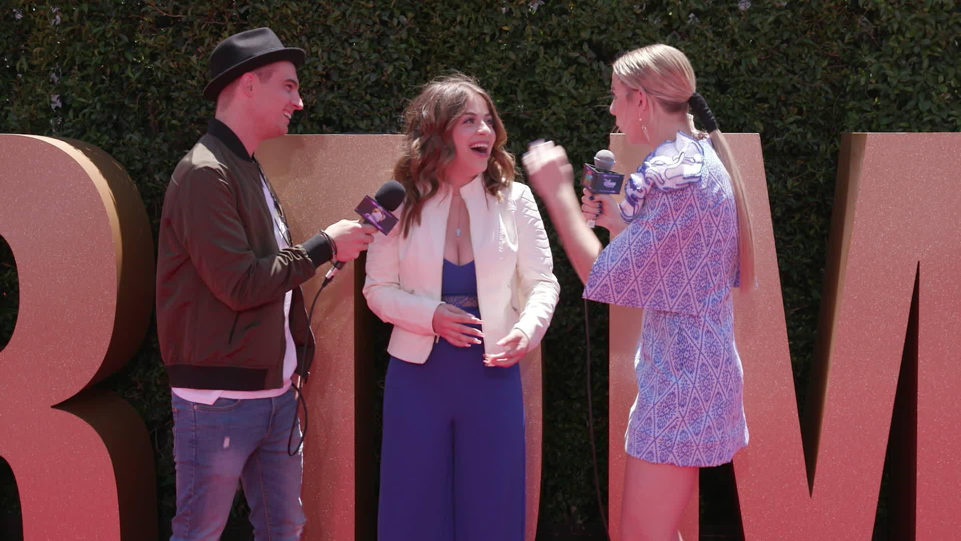 Baby Ariel Red Carpet Interview   2017 Radio Disney Music Awards