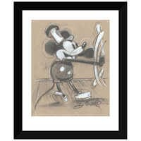 Image of Mickey Mouse ''Steamboat Willie'' Giclée by Eric Robison # 2