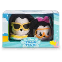 Image of Mickey and Minnie Mouse ''Tsum Tsum'' Set - Mini - 3 1/2'' # 3