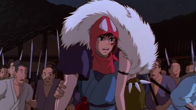 I'm Taking the Wolf Girl - Princess Mononoke Clip