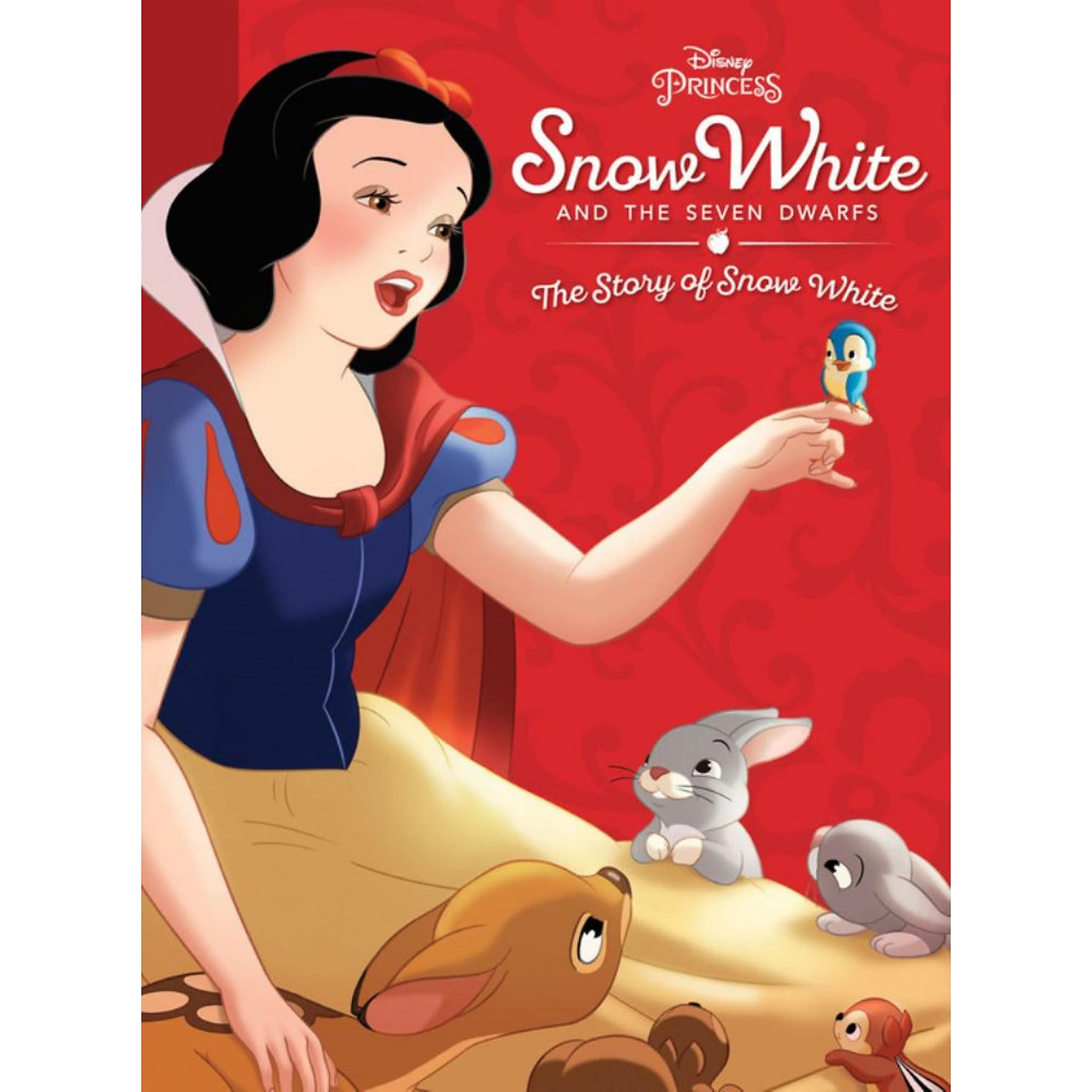 Snow White and the Seven Dwarfs: The Story of Snow White Book
