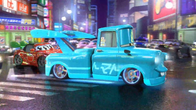 Cars Toons - Tokyo Takel