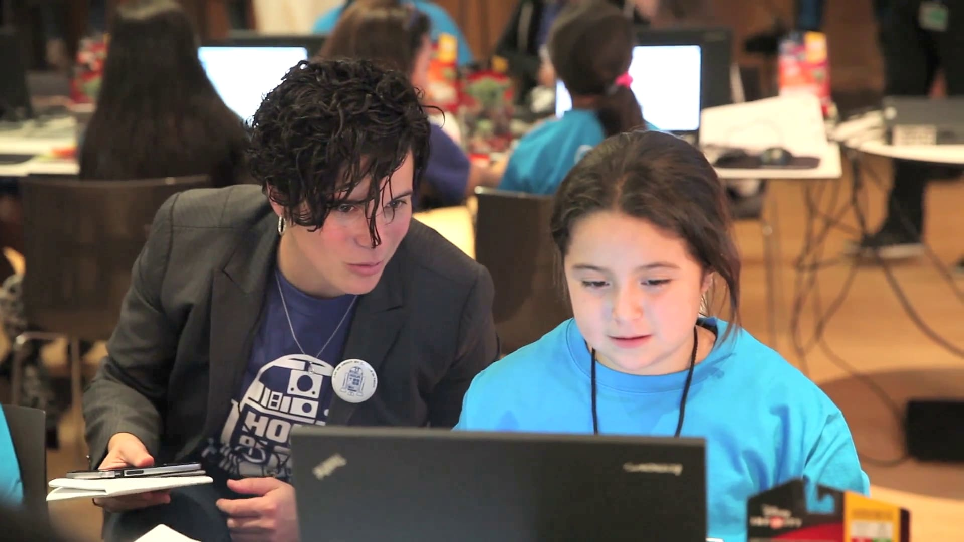 Disney Consumer Products & Interactive Media Celebrates Hour of Code!