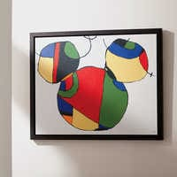 Image of Mickey Mouse ''Expressionist Mickey I'' Framed Giclée on Canvas by Ethan Allen # 2