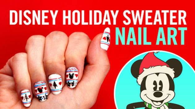Mickey minnie holiday sweater nail art tips by disney style video thumbnail for mickey amp minnie holiday sweater nail art tips by disney style prinsesfo Image collections
