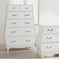 Neverland Tall Bombé Chest by Ethan Allen