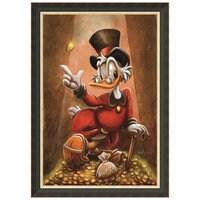 ''Scrooge McDuck'' Giclée by Darren Wilson