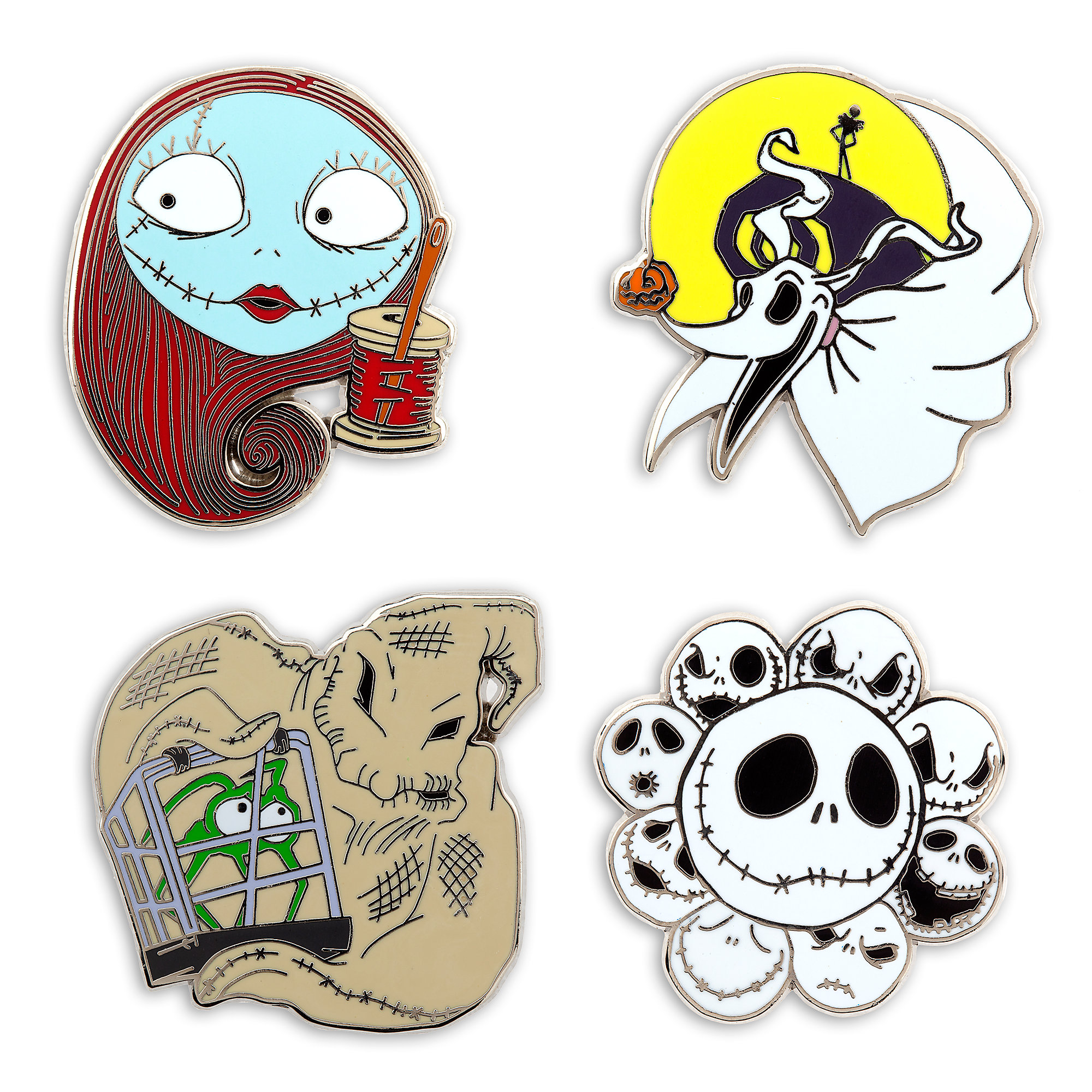 Tim Burton's The Nightmare Before Christmas Pin Trading Starter ...