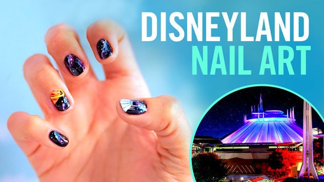 Disneyland Nail Art | TIPS by Disney Style - Moana Nail Art TIPS Disney Style Disney Video