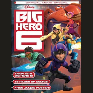 Big Hero 6 Official Movie Special