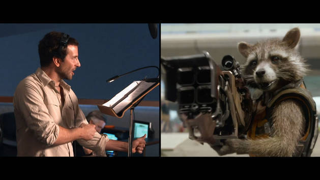 Bradley Cooper - Intergalactic Visual Effects - Guardians of the Galaxy