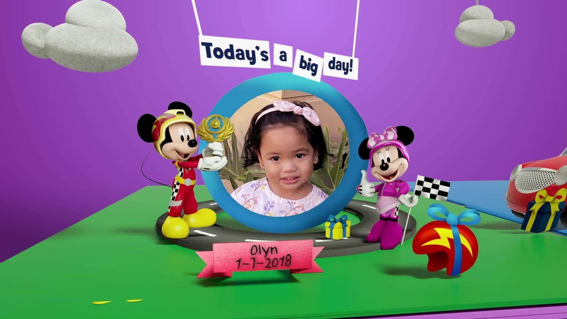 Disney Junior Birthday Book 2021 July Album 10