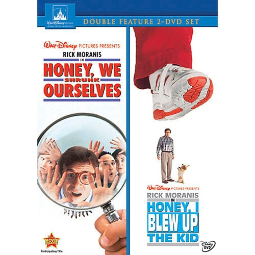 Honey We Shrunk Ourselves And Honey I Blew Up The Kid
